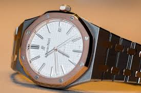 Tan And Tone Prices Hands On The Audemars Piguet Royal Oak 15400sr Two Tone Watch
