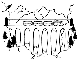 train coloring pages 5807