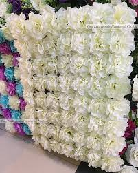 cheap flower lfb449 cheap price white dahlia flower wall wholesale yiwu lucky