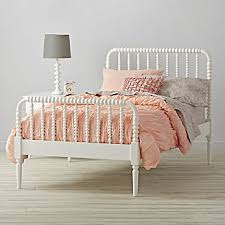 White Frame Bed Beds And Headboards Crate And Barrel