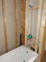 Install Shower Head In Bathtub Is This Shower And Valve Placement Acceptable Terry Love