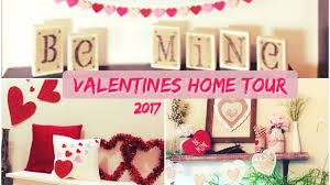 valentines home decor tour 2017 youtube