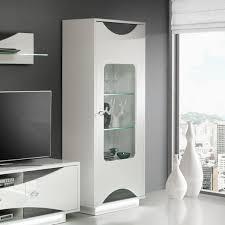 Wohnzimmer Vitrine Wohnzimmer Vitrine Weis Hochglanz Home Design Inspiration