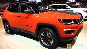red jeep compass interior 2018 jeep compass trailhawk exterior and interior walkaround