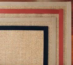 Bound Sisal Rug Linen Texture Border Wool Sisal Rug Sisal Rugs Sisal And Linens