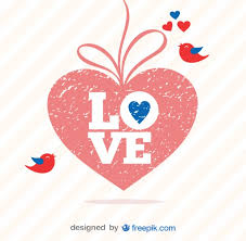retro valentines retro s day grunge heart vector vector free