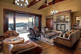 Luxury Livingrooms Western Ranch Home Design Luxury Living Room Carameloffers