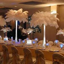 ostrich feather centerpieces ebay
