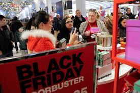 black friday thanksgiving sales climb to record high
