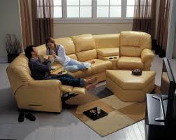 Reclining Leather Sectional Sofa Reclining Leather Sectionals Be Seated Leather Furniture