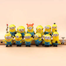 11pcs despicable me 2 character figures minions tree