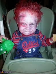 toddler chucky costume chucky baby diy costume idea