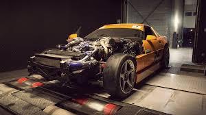 turbo corvette turbo corvette c4 on the dyno 710hp