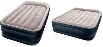 intex dura beam pillowrest raised air bed queen for 34 99 reg
