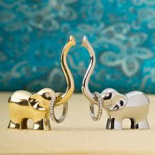 asian elephant ring holder images Lucky elephant ring holder in silver and gold jpg