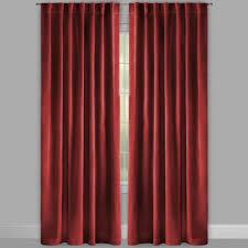96 u201d cotton velvet window curtains set of 2 christmas tree shops