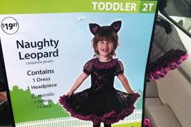 Walmart Halloween Costumes Toddler Walmart Pulls U0027naughty U0027 Halloween Costume Aimed Toddlers