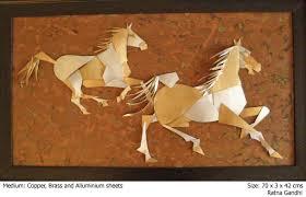 Horse Murals by Ratna Gandhi Murals
