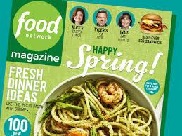 food network magazine april 2016 recipe index food network