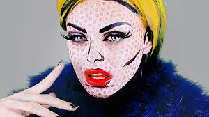 pop art halloween makeup ideas roy lichtenstein pop art and
