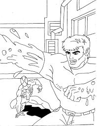spiderman 2 coloring pages coloring