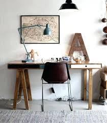 comment fabriquer un bureau en bois faire un bureau en bois creer un bureau en palettes de bois