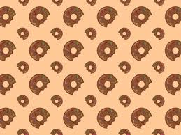 donut wrapping paper donut pattern 7 by alba studio dribbble