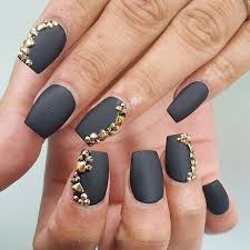 25 matte nail designs you u0027ll want to copy this fall page 2 of 2