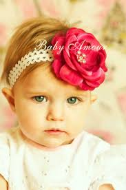 flower bands baby hair bands baby big flower headbands hairband hair bow