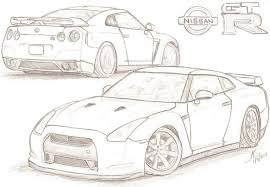 coloring pages drifting cars gtr coloring page coloring book