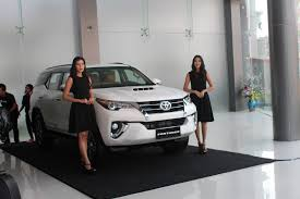 toyota car showroom toyota launches redesigned fortuner myanmar business today