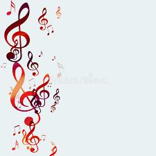 imagenes de notas rojas notas rojas de la música stock de ilustración ilustración de