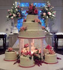big wedding cakes with fountains wedding cake