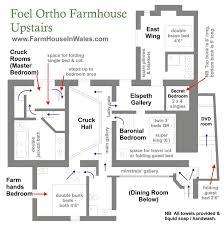 Treehouse Floor Plan Foel Ortho Farmhouse Floor Plans Farmhouse In Wales