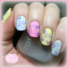 the digit al dozen pattern on pattern day 2 easter pastel nail