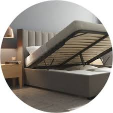 gas lift beds buy queen u0026 king storage bed frames online brosa