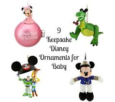 9 keepsake disney ornaments for baby disney baby