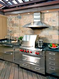 stunning outdoor kitchen stainless steel cabinet doors and trends