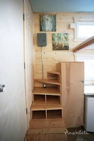 ana white tiny house stairs spiral storage style diy projects