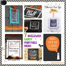 halloween printable sign door u2013 festival collections