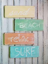 beachy signs weathered signs cool stuff i wanna make