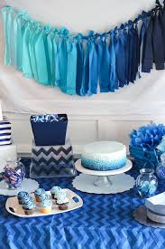 zebra print baby shower1 year birthday party locations blue ombre birthday party diy details by houseofroseblog