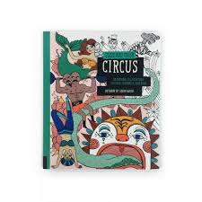 color circus coloring book sarah walsh u2014