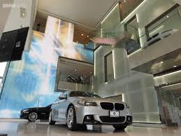 bmw dealership inside bmw of manhattan renovation