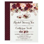 tea party bridal shower invitations tea party bridal shower invitations funbridalshowerinvitations