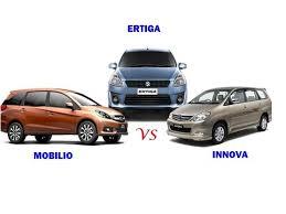 honda car comparison comparison honda mobilio vs maruti suzuki ertiga vs toyota innova