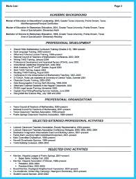 Example Of Education On Resume by A Resume Example Best Free Resume Collection