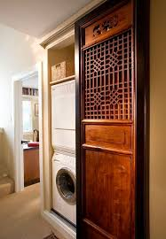 24 Inch Bookshelf Asian Laundry Room With Built In Bookshelf By Sandra Bird Zillow