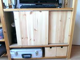 How To Build Cabinets Doors Diy Sliding Cabinet Door Tracks For Sliding Cabinet Doors Remodel