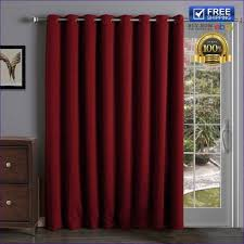 Slider Curtains Slider Doors Door Curtain Thermal Lined Centerfordemocracy Org